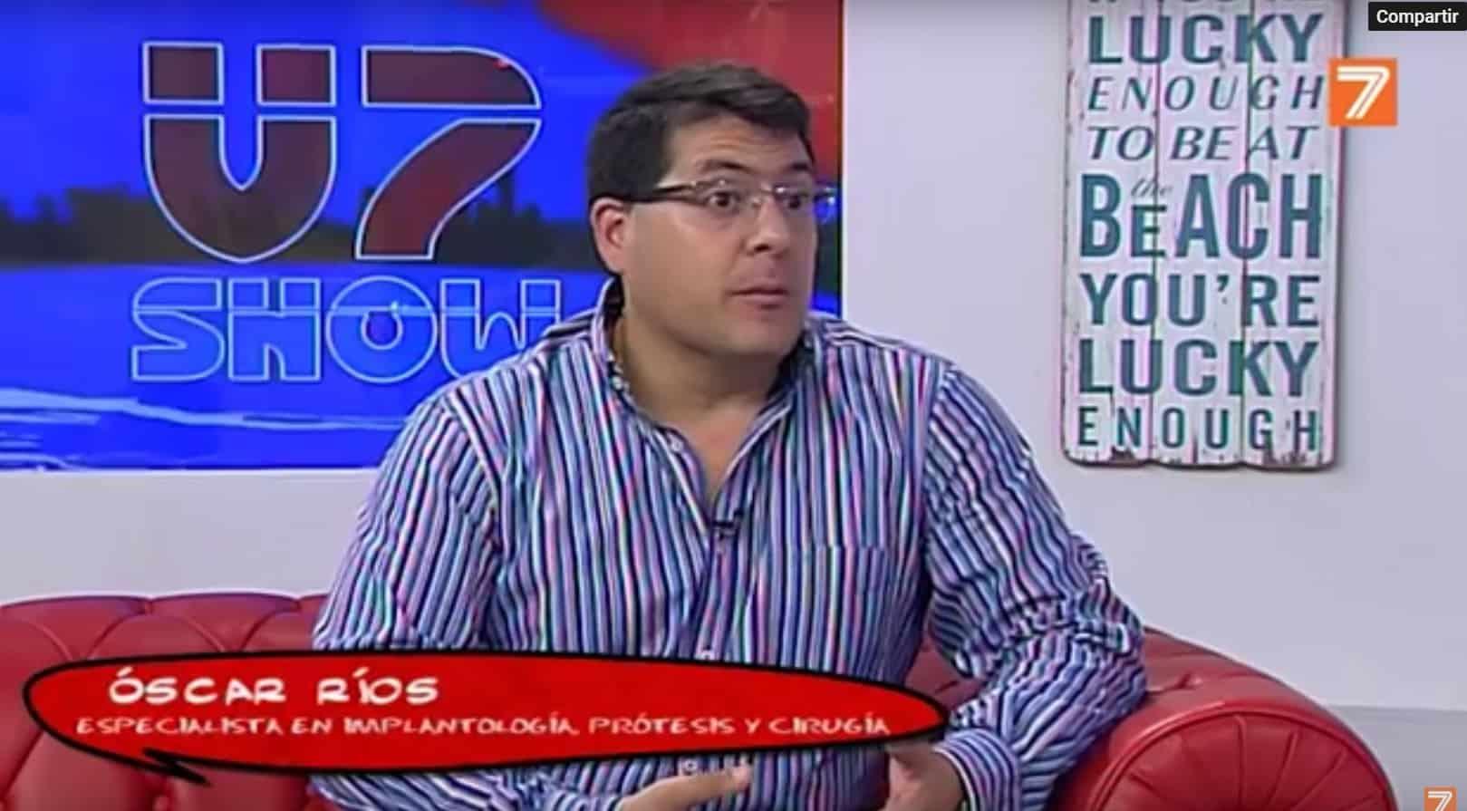 Entrevista al Dr. Óscar Ríos en TeleValencia