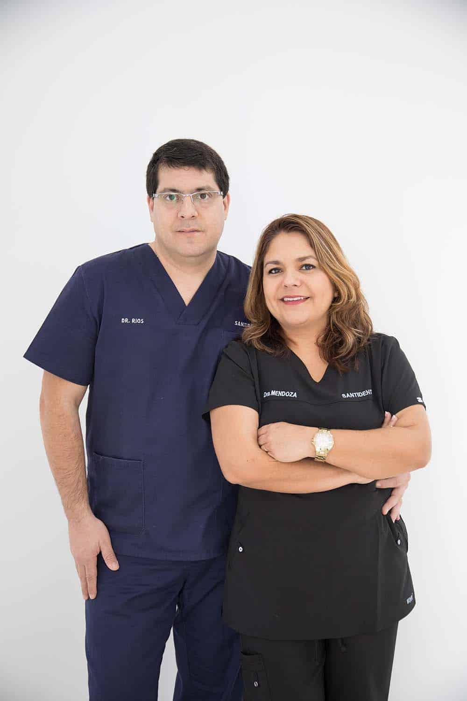 equipo santident clinica dental paterna
